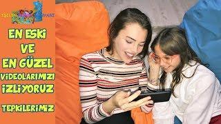 EN ESKİ ve EN GÜZEL VİDEOLARIMIZI İZLİYORUZ | KOMİK TEPKİLERİMİZ !! - Eğlenceli Çocuk Videosu