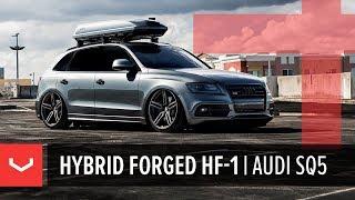 Vossen Hybrid Forged HF-1 Wheel   Audi SQ5   Tinted Matte Gunmetal