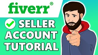 How to Create a Fiverr Seller Account | Fiverr Tutorial 2020
