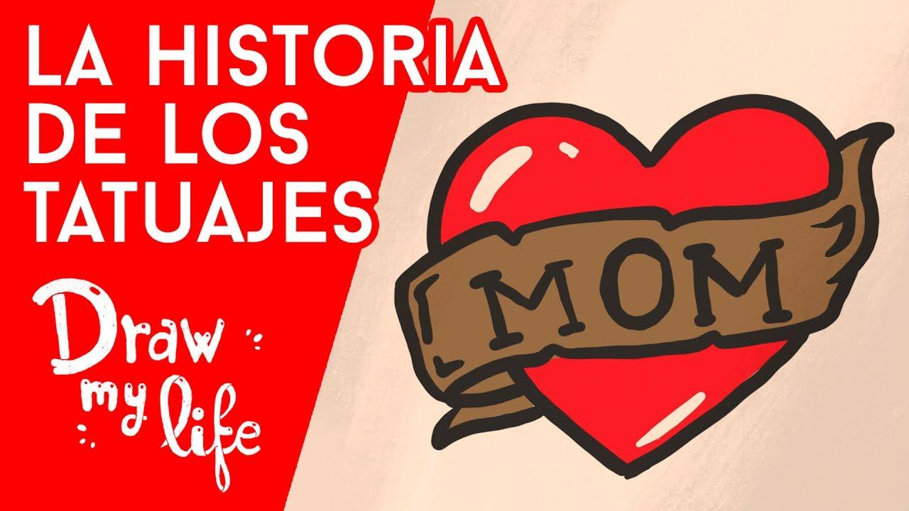 HISTORIA de los TATUAJES - Draw My Life