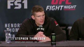 Fight Night Las Vegas: Post-fight Press Conference Highlights