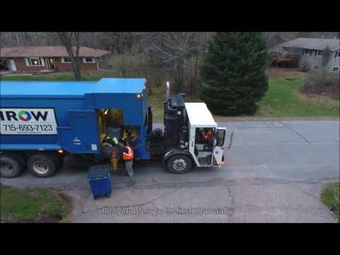 Village of Maine Dual Collection Refuse / Recycling Truck
