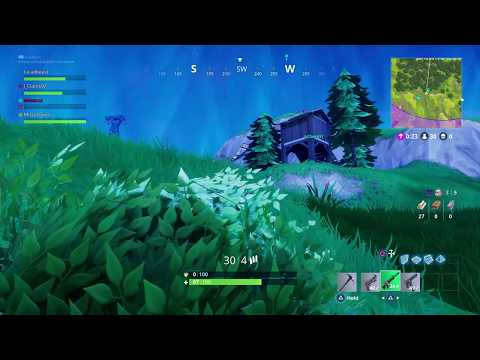 FORTNITE 1st PLACE HIDING IN A BUSH