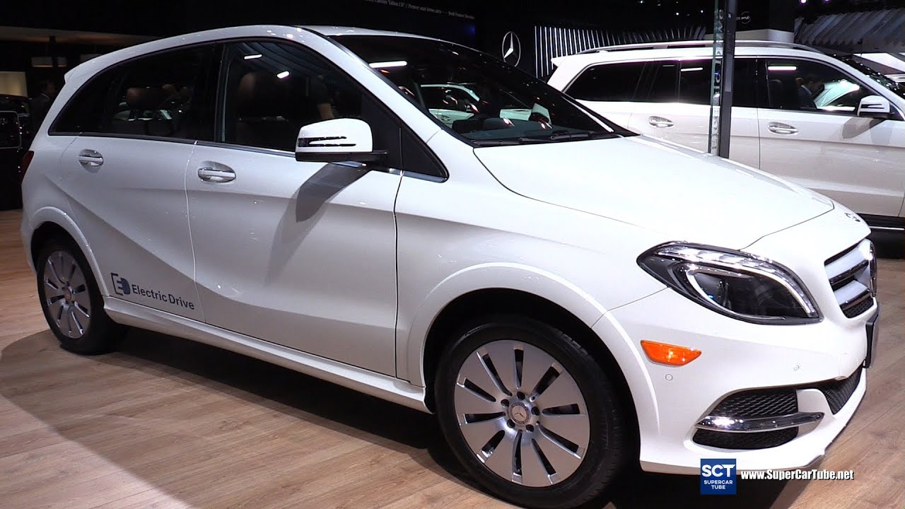 2016 mercedes benz b class b250e exterior and interior walkaround 2016 detroit auto show. Black Bedroom Furniture Sets. Home Design Ideas