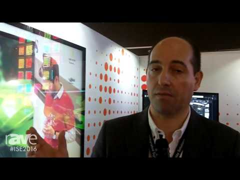ISE 2016: DISPLAX Multitouch Technologies Features Capacitive Multitouch Film