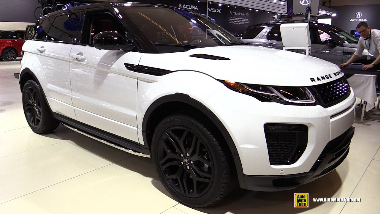 2016 range rover evoque hse dynamic exterior and interior walkaround 2016 montreal auto show. Black Bedroom Furniture Sets. Home Design Ideas