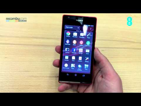 Sony Xperia SP hands-on