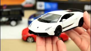 Opening new toys cars for kids