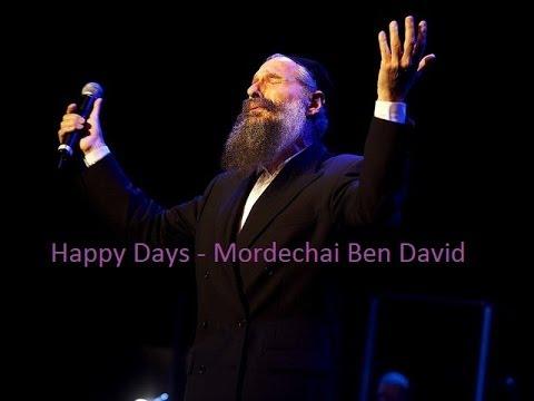 """""""Happy Days"""" - Mordechai Ben David (Song) + Lyrics in the Description - The English Collection"""