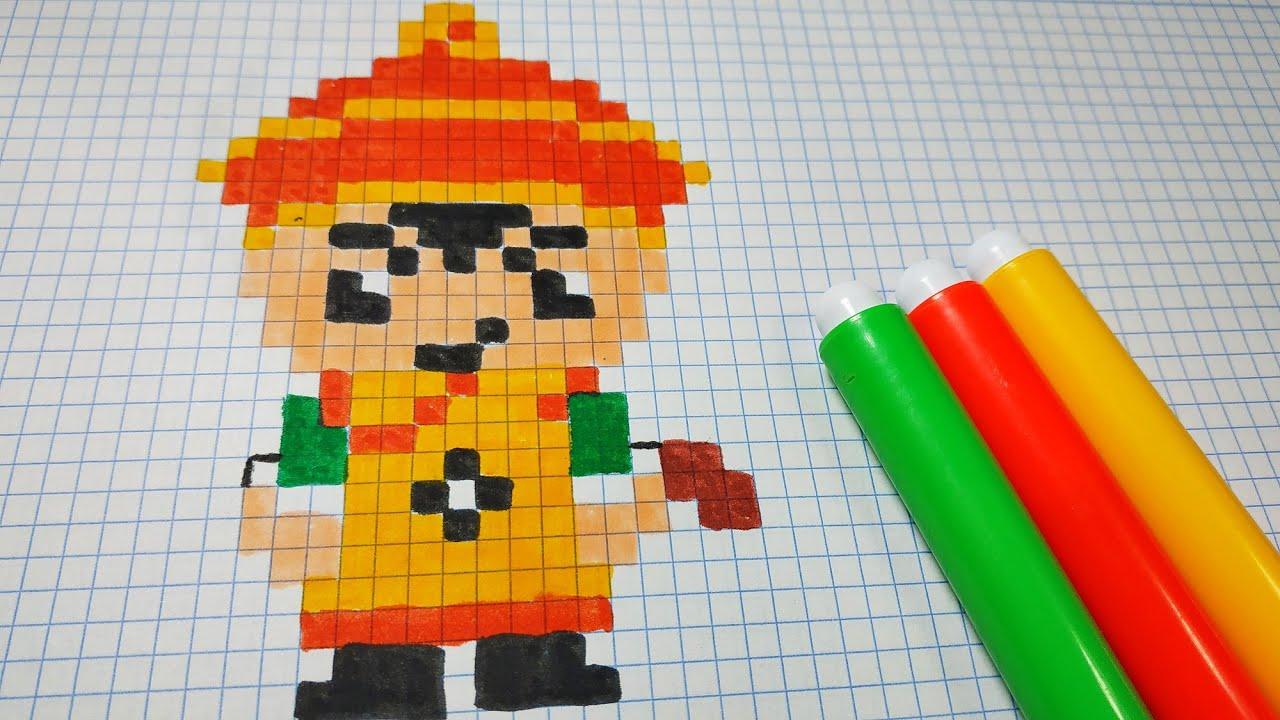 Como Dibujar A Gohan Dragon Ball Pixel Art