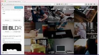 BLDR Theme Customizer Tutorial