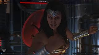 Injustice 2 PC (Beta)-2 4k max settings gameplay gtx 1080ti and i7-8700k
