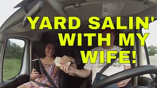 husband-wife-garage-sale-ridealong-haul