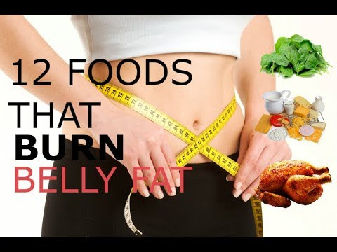 12 Foods That Burn Belly Fat