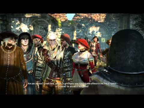 19. Let's Play The Witcher 2: Assassins of Kings - By the Gods - Stringing up Sods