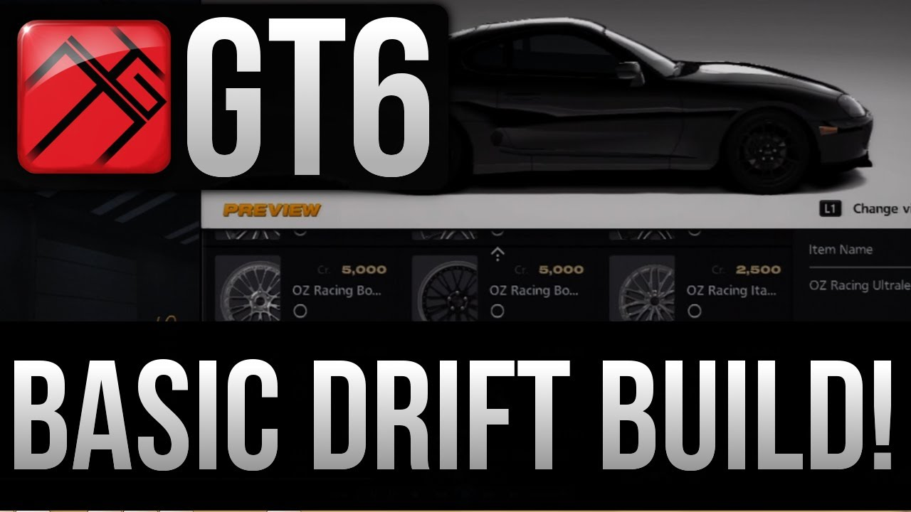Gran Turismo Basic Drift Car Build Youtube