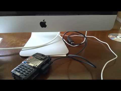 Baofeng UV-5R UV-5RA Setup Mac Cable CHIRP