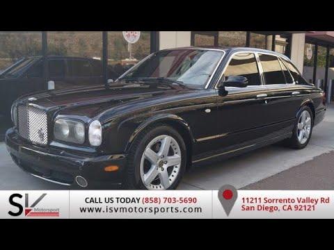 2002 Bentley Arnage T San Diego California Youtube
