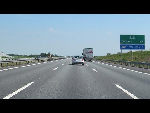 Denmark: E20 Fredericia - Nørre Aaby (Little Belt Bridge)