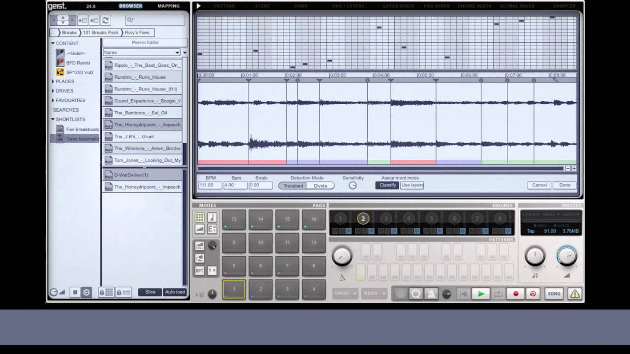 beat making with fxpansion geist