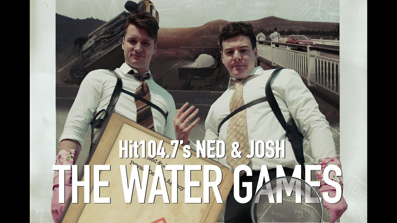 The Water Games - Starring Hit104.7's Ned & Josh