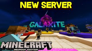 The New Server On Minecraft... Galaxite!