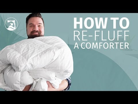 How To Re-Fluff Your Comforter