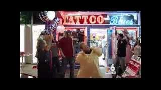 TATTOO BLUES DOES THE HARLEM SHAKE FEAT. ON NBC 6