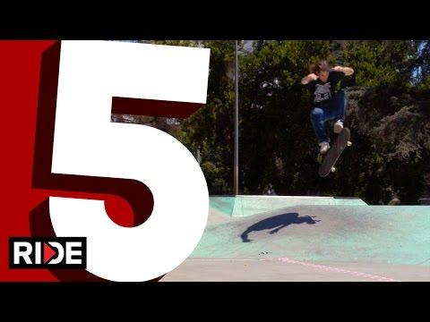 Dave Bachinsky 5 Favorite Flip Tricks