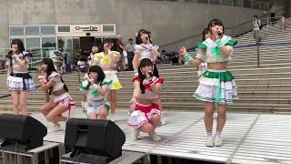 2019年6月8日 @ダイバーシティ東京プラザ2Fフェスティバル広場 NEWシングル『愛をこころにサマーと数えよ』発売記念インストアイベント.