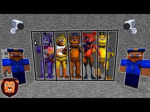 FIVE NIGHTS AT FREDDY'S PRESOS (MINECRAFT PRISON ESCAPE) | MINECRAFT ESCAPA DE LA PRISION ROLEPLAY