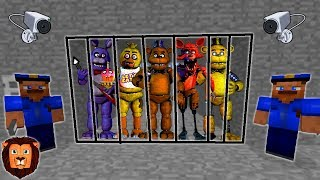 FIVE NIGHTS AT FREDDY S PRESOS MINECRAFT PRISON ESCAPE MINECRAFT ESCAPA DE LA PRISION ROLEPLAY