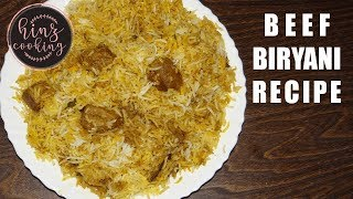 Beef Biryani Recipe - Ramadan 2018 Special - Eid Recipe by Hinz Cooking