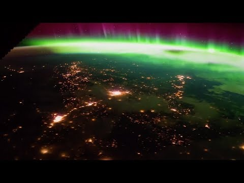Stunning! Northern lights viewed from International Space Station