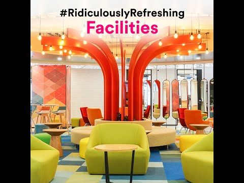 What our offices look like: TaskUs Rangreza–Indore, India