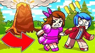 Майнкрафт: ВЫЖИВАНИЕ ОТ АПОКАЛИПСИСА ! Парень и Девушка Мини Игра Смешное Видео Нуб и Про Minecraft