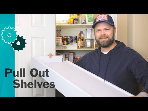 How To Make Pull Out PANTRY Shelves From IKEA Drawers   Easy DIY IKEA Hack For Pantry Organization