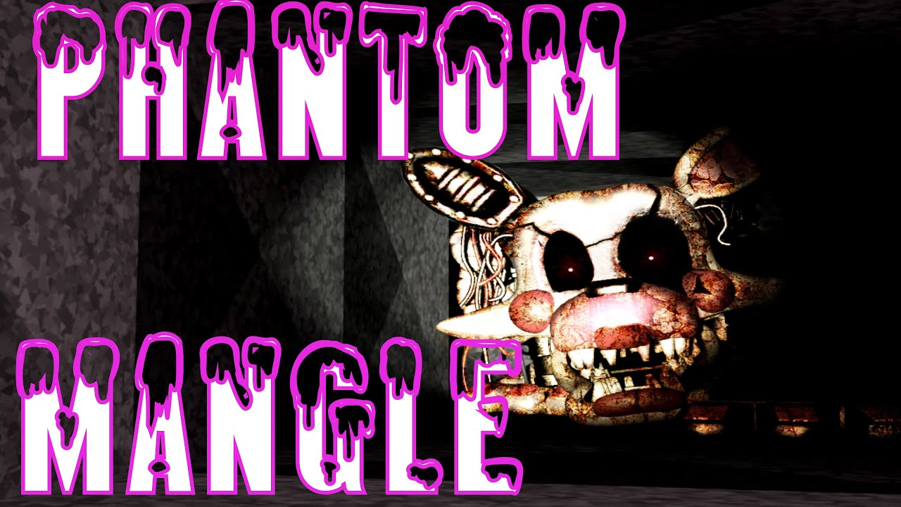 Creepypasta phantom mangle five nights at freddy s 3 ita