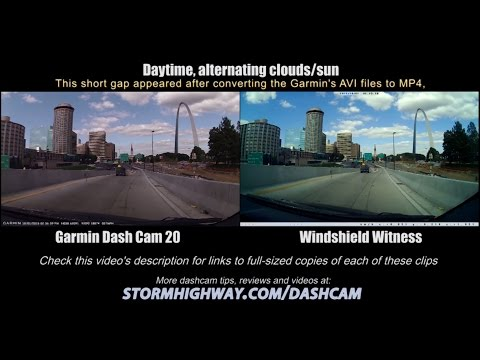 Dashcam Comparison: Garmin Dash Cam 20 Vs Windshield Witness