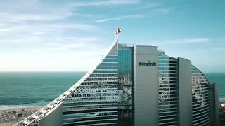 The original Jumeirah Hotel. Jumeirah Beach Hotel