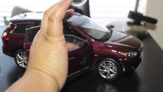 1:18 Scale Infiniti QX60 from Paudi Unboxing
