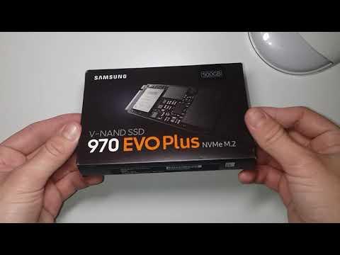 Samsung 970 Evo Plus 500GB M.2 PCIe 3.0 x4 V-NAND 3-bit MLC (MZ-V7S500BW)