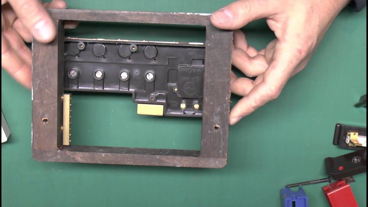 wylex fuseboxes dismantled [ 1280 x 720 Pixel ]