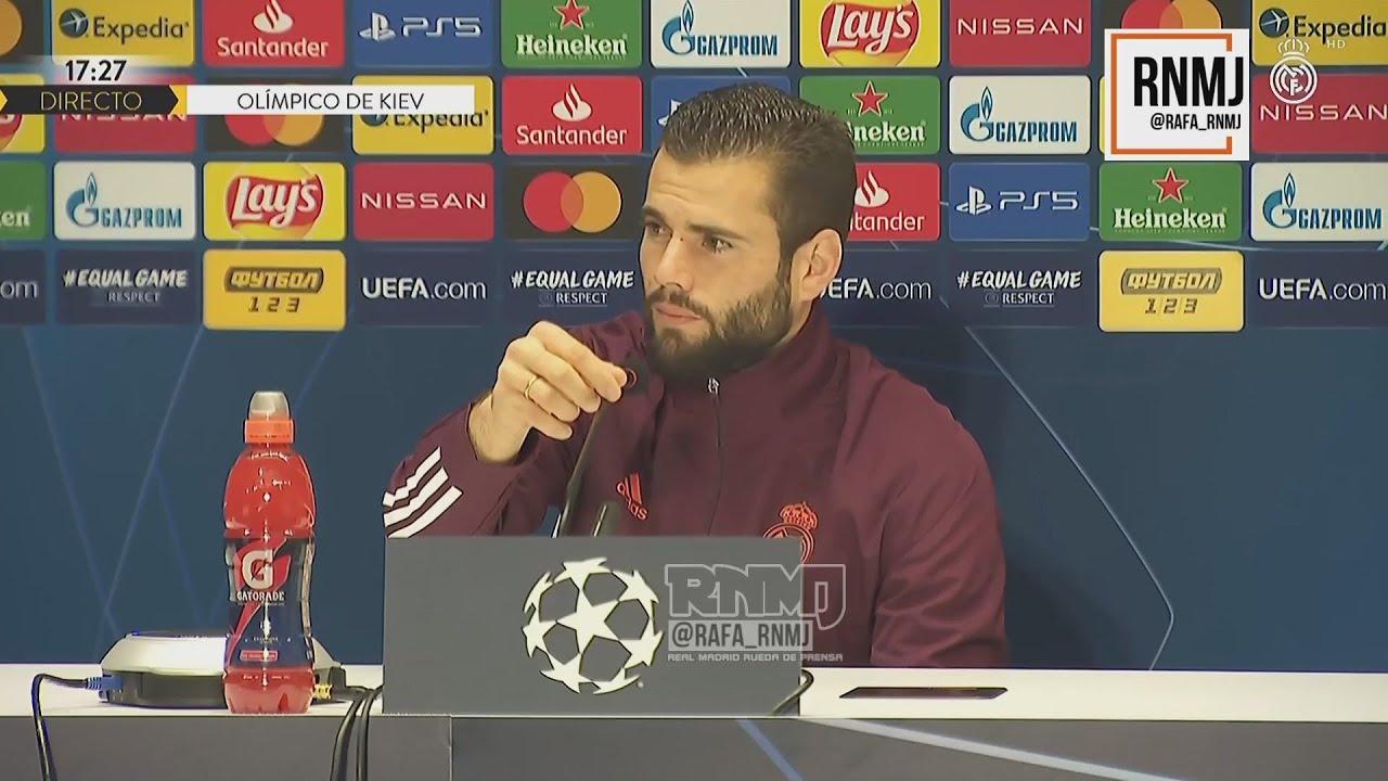 Rueda de prensa previa de NACHO Shakhtar Donetsk - Real Madrid (30/11/2020)