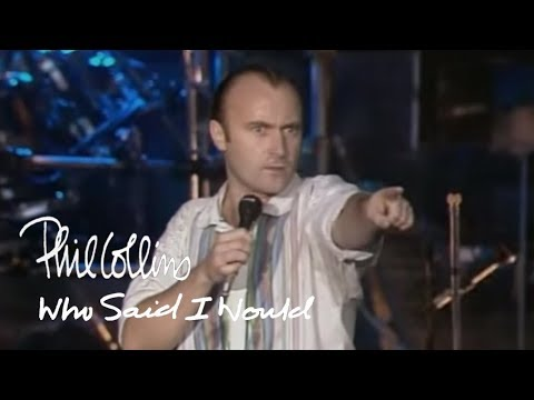 Phil Collins - Who Said I Would (Official Music Video)