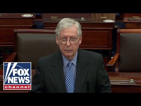 McConnell unsatisfied with Biden's executive orders calling them 'liberal symbolism'