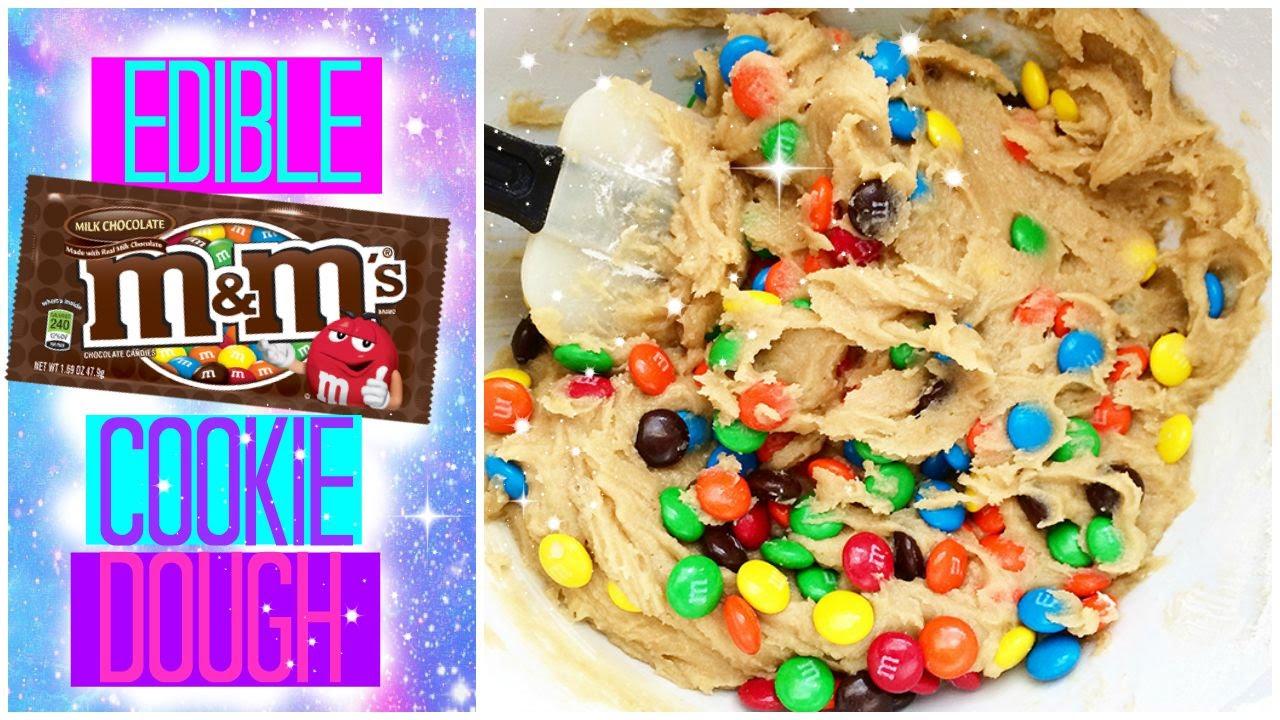 Edible birthday cake cookie dough recipe