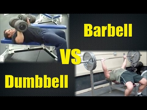 Dumbbell Bench to Barbell Bench Conversion