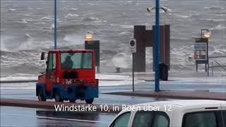 2017-10-29 Sturm Herwart - Hafen Wittdün / Amrum