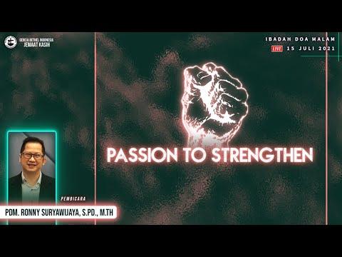 JK Live Stream - Ibadah Doa Malam Online - 15 Juli 2021